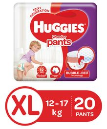Huggies Wonder Pants Extra Large Size Pant Style Diapers - 20 Pieces