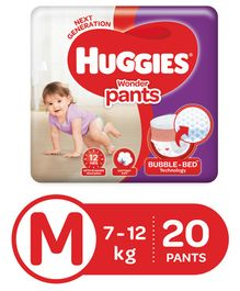Huggies Wonder Pants Medium Size Pant Style Diapers - 20 Pieces