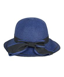Kidofash Bow Detailed Hat - Blue