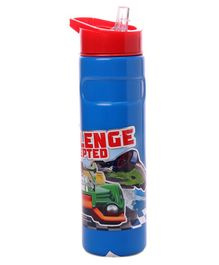 Hot Wheels Insulated Sipper Bottle Blue - 400 ml