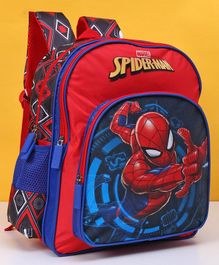 Marvel Spider Man School Bag Red - Height 14 inches