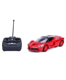 RC Car With Charger - Red
