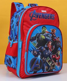Marvel Avengers School Bag Red Blue - 18 Inches