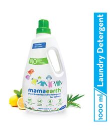 mamaearth Plant Based Baby Laundry Liquid  Detergent - 1000 ml