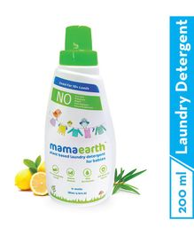 mamaearth Plant Based Baby Laundry Liquid  Detergent - 200 ml