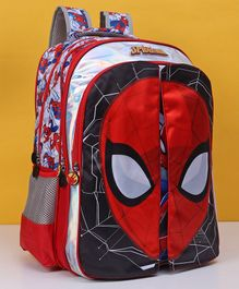 Marvel Spider Man Flap School Bag Red - 18 Inches