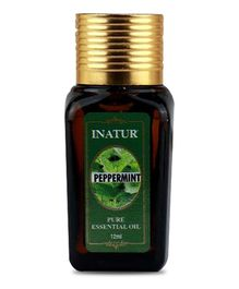 Inatur Peppermint Pure Essential Oil - 12 ml