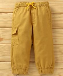 UCB  Full Length Solid Lounge Pant - Ochre Yellow