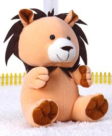 Playtoons Baby Lion Soft Toy Light Brown - 20 cm