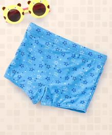 Babyhug Swimming Trunk Star Print - Blue
