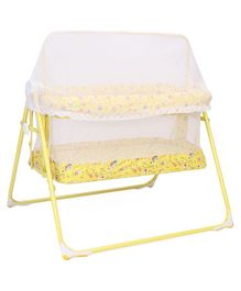 Mothertouch Combi Cradle With Mosquito Net - Yellow