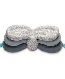 BabyMoon Multi-Function Elevate Adjustable Nursing Pillow - Grey