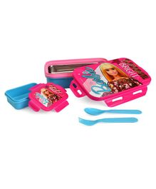 Barbie Insulated Steel Lunch Box - Blue