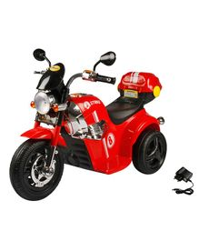 Wheel Power Battery Operated Ride On Harley Bike - Red