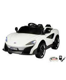 Wheel Power Battery Operated Ride On Porsh Car With Remote Control - White