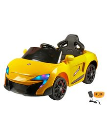 Wheel Power Battery Operated Ride On Mclaren Car With Remote - Yellow