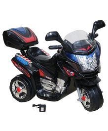 Wheel Power Battery Operated Ride On Bike - Black