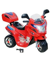 Wheel Power Battery Operated Ride On Bike  - Red