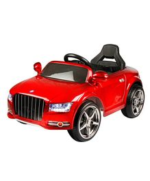 Wheel Power Battery Operated Ride On Car - Red