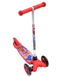 Chhota Bheem Twist 3 Wheel Scooter - Red