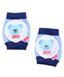 Babyhug Baby Knee & Elbow Pads - Blue