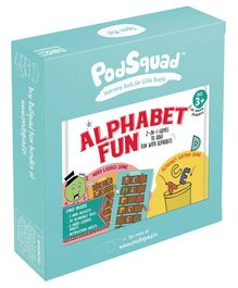 PodSquad Alphabet Fun Game - Multicolour