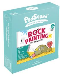 PodSquad Rock Painting Kit - Multicolour