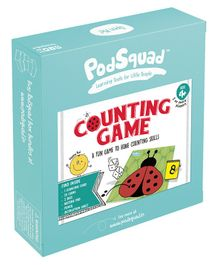 PodSquad Counting Game - Multicolour