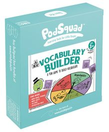 PodSquad Vocabulary Builder Game - Multicolour