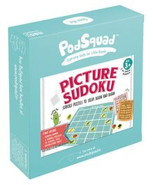 PodSquad Picture Sudoku Multicolor - 36 Pieces