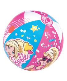 Bestway Beach Ball Barbie Print - Pink
