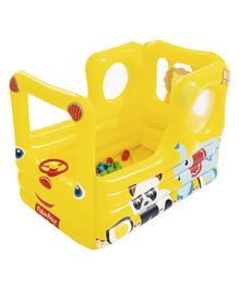 Bestway Fisher Price School Bus Inflatable Bouncer - Multicolour