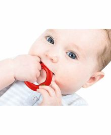 Nippon Water Filled Apple Shaped Silicone Teether - Red