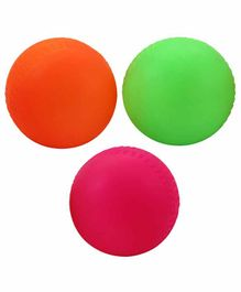 Nippon Soft Rubber Cricket Ball - (Colours May Vary)