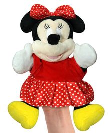 a2b2244d12a Disney Minnie Mouse Hand Puppet Black Red - Height 20 cm