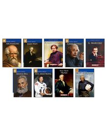 Know About Great Scientists Knowledge Books Pack of 9 - English