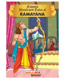 Famous Illustrated Tales of Ramayana - English