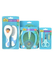 Beebop Baby Essentials Combo Set of 3 - Green Blue