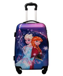 Gamme Disney Frozen Trolley Luggage Bag Purple - Height 20 inches