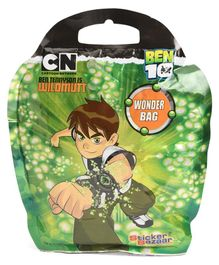 Ben 10 Wonder Bag Stationery Gift Pack - 6 Pieces