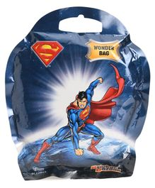 Superman Wonder Bag Stationery Gift Pack - 6 Pieces