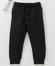 Fox Baby Full Length Lounge Pant With Drawstring - Black