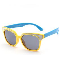 Little Palz Solid Sunglasses - Yellow