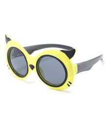 Little Palz Cat Eyes Design Sunglasses - Yellow