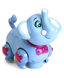Kids Ville Elephant Musical Toy - Blue