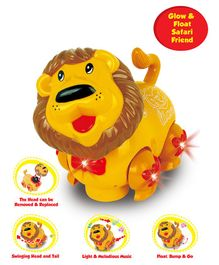 Kids Ville Lion Musical Toy - Yellow
