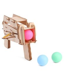 Imagician Playthings DIY PingPong Storm Gun - Multicolour