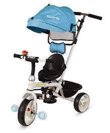 Baybee 3 in 1 Convertible Tricycle With Canopy - Blue