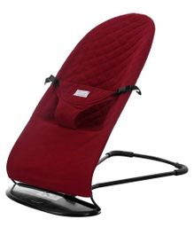 Nee & Wee Natural Baby Bouncer - Maroon