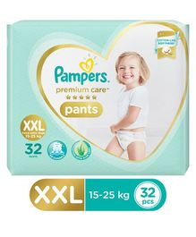 Pampers Premium Care Pant Style Diapers XX Large Size - 32 Pieces